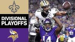 Saints vs. Vikings: THE MINNEAPOLIS MIRACLE! | NFL Divisional Round Game Highlights