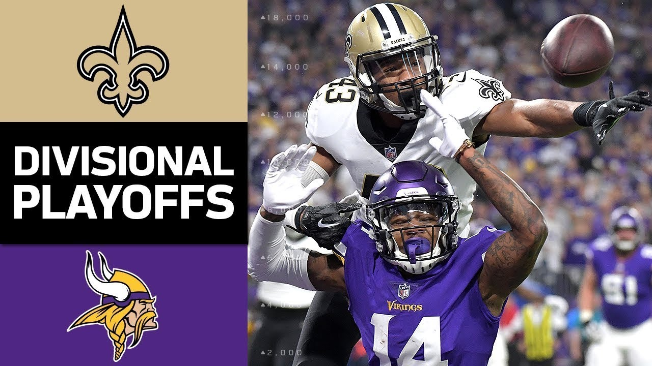 Saints-Vikings first-round playoff game: What you need to know