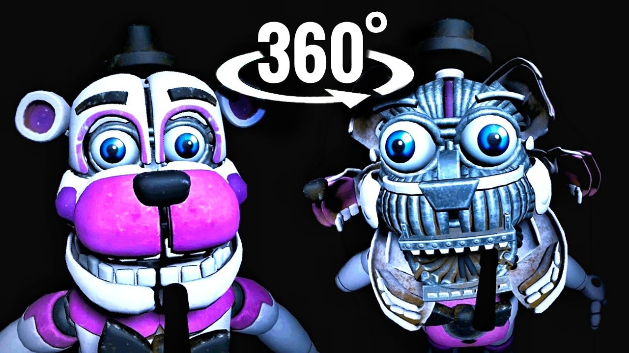 😱 360 video Freddy Fazbear Jumpscare Five Nights at Freddy's VR Help Wanted Virtual Reality Part 3