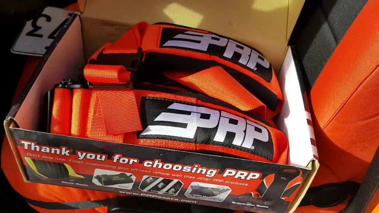 JEEP OFFROAD Seat Belt Harnesses 5.3 . Quick look! PRP Racing ...