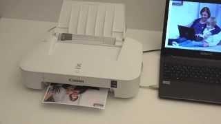 dukaPC - Udpakning og tilslutning af dukaPrinter (Canon iP2850)