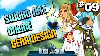Lost Saga: Sword Art Online Gear Design Cosplay