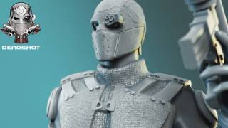 Deadshot - Suicide Squad 3D Model for 3D Printing