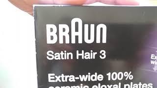 BRAUN STRAIGHTENER SATIN HAIR 3 ST310