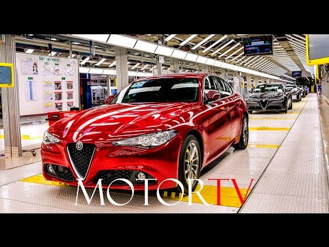 2017 ALFA ROMEO GIULIA & STELVIO l CASSINO ASSEMBLY PLANT (ITA) l FILM (Long)