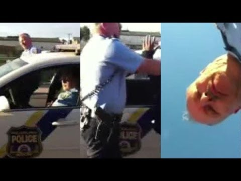 Racist Cop Harassing Pedestrians in Viral Stop and Frisk Video