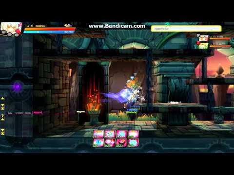 [Elsword DE] Code Battle Seraph X drop & platform slide