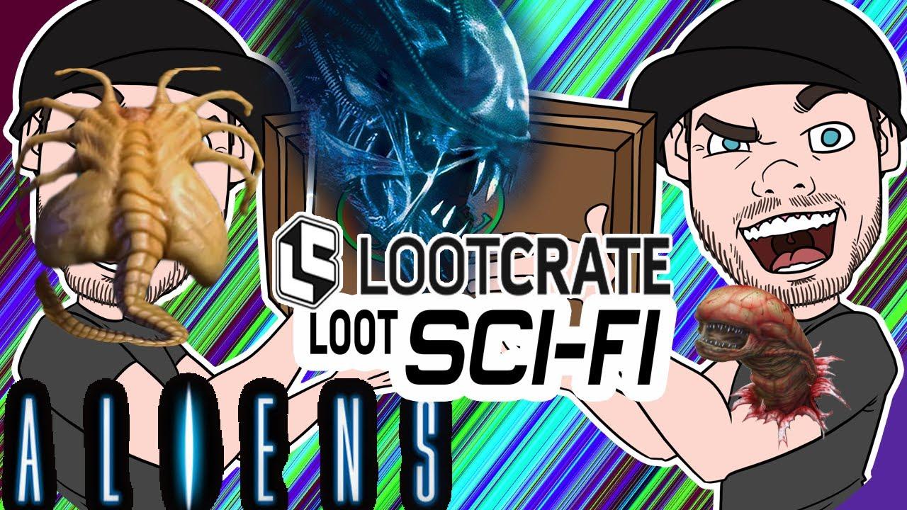Lootcrate Sci-fi Aliens Box unboxing