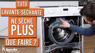 Comment réparer une machine lavante séchante qui ne sèche plus