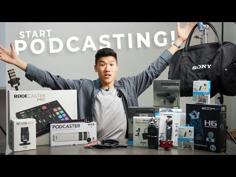 Beginner To Pro Podcasting Setups! | PRODUCT BREAKDOWN