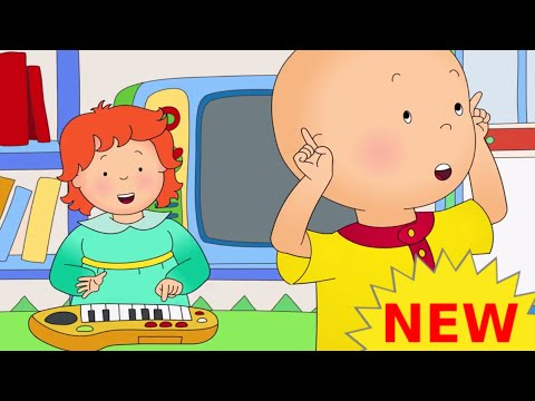 Funny Animated cartoons Kids   NEW   Caillou watches Rosie   WATCH ONLINE   Cartoon for Children