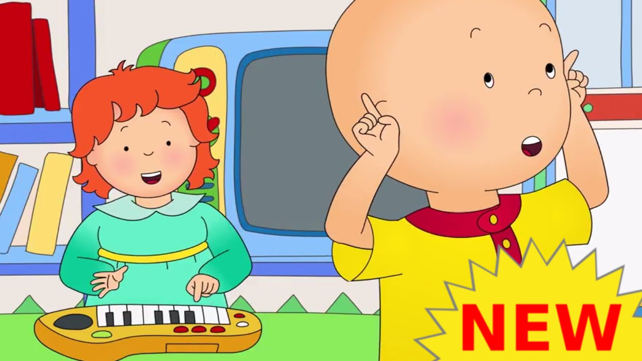 funny animated cartoons kids new caillou watches rosie watch online cartoon for children - Cartoon Pics Of Kids