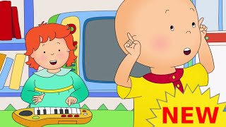 Funny Animated cartoons Kids | NEW | Caillou watches Rosie | WATCH ONLINE | Cartoon for Children