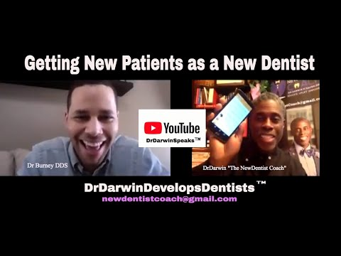 How to Get New Patients in Dentistry | New Dentist Coaching Call | AskDrDarwin 18-310
