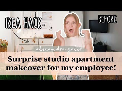 350 Sq Ft Studio Apartment Makeover Filled With Ikea Hacks! | Studio Fix S2 E1