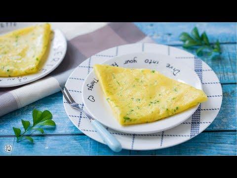 【拾味爸爸】[豆苗虾皮小软饼]一点调味都不加,鲜香软嫩当辅食特别合适!