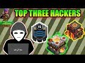Clash of clans, OMG (TOP 3 HACKERS FOUND IN COC)?