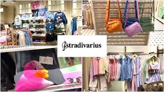 Обзор магазин Stradivarius Новая яркая коллекция Шоппинг влог г Новосибирск