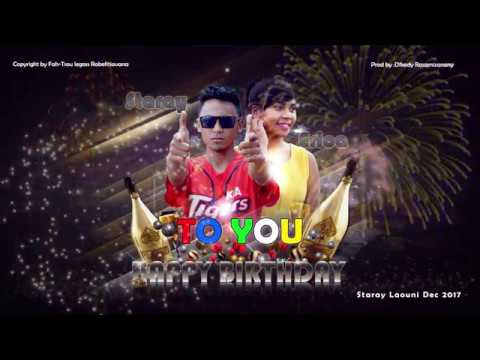 StaraY & EricA - HBD (Happy BirthDay) (Audio/Lyrics Officiel) Nouveauté gasy 2017