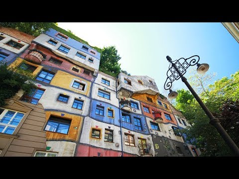 Hundertwasser House, Vienna, Austria - YouTube