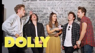 DOLLY chats to The Vamps & asks them your questions | Celeb Bites