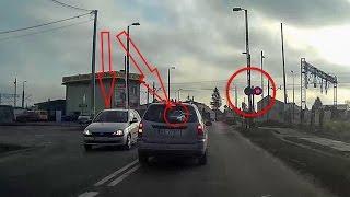Kierowcy ignorują sygnalizację na przejeździe kolejowym