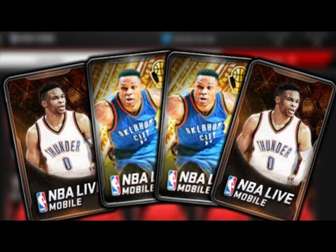 2 MIL NBA AWARDS PACK OPENING!! 3X 91+ PULLS!! NBA Live Mobile
