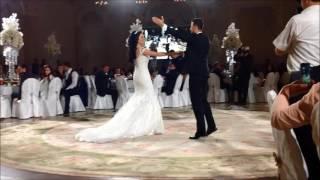 Танец жениха и невесты. Азербайджанская/Еврейская свадьба 08/09/2016