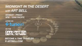 Art Bell and Linda Moulton Howe discuss the famous Chilbolton Crop Circle on Midnight In The Desert