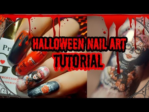 Halloween Nail Art Tutorial| Claw Culture Nail Stickers thumbnail
