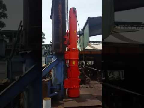Delmag D30 Diesel Pile Hammer Test