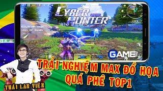 🔴Cách tải & Trải nghiệm Cyber Hunter Mobile - Mang đồ họa cực đẹp cạnh tranh với PUBG Mobile #1