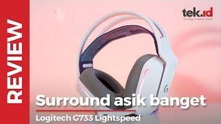 Review Headset Gaming Logitech G733 Lightspeed