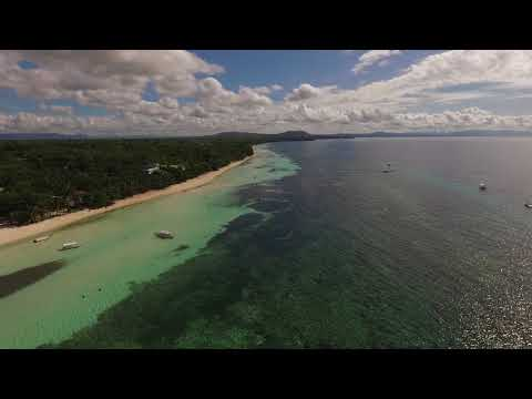 "One of the best hotel in Panglao island, Philippines ""Bohol Beach Club"" taken by Drone Phantom"