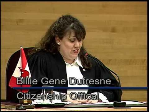 Canadian Citizenship Ceremony - Sault Ste. Marie