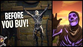 Skull Trooper | Skull Sickle | Crypt Cruiser - Before You Buy - Fortnite
