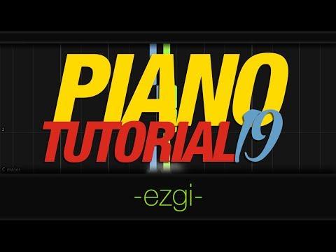 Piano Tutorial 19 - Ezgi (120 bpm)