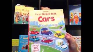 Minute Movie - First Sticker Book Cars