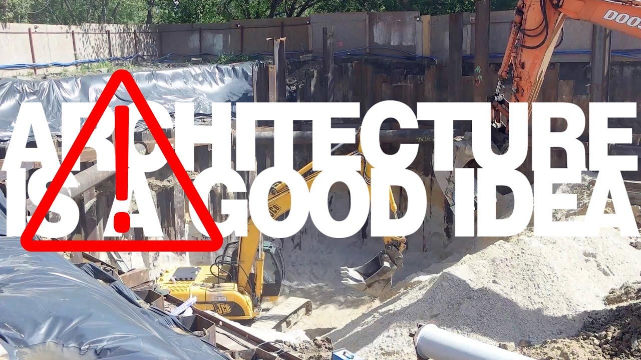 Uwaga! Głębokie wykopy! - ściany szczelinowe | Architecture is a good idea