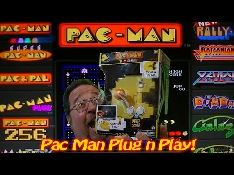Pac Man 35th Anniversary Plug N Play!