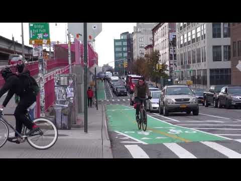 The Williamsburg Bridge now has World-Class bike access from Brooklyn