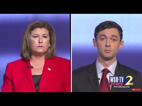 Jon Ossoff holds strong lead in a Georgia Democratic Senate ...