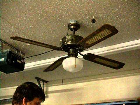 """SMC Emperor 52"""" Ceiling fan - YouTube"""