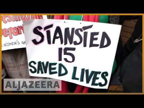 🇬🇧 'Stansted 15' deportation activists spared jail time in UK   Al Jazeera English