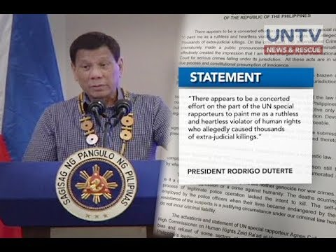 The Philippines withdraws from the International Criminal Court