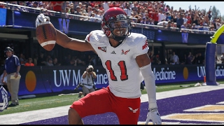 Interview of kendrick bourne as he prepares for the nfl combine and 2017 draft