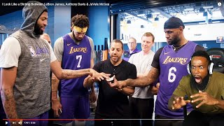 Impossible Magic Trick On LEBRON JAMES & Anthony Davis! David Blaine Makes Cards Disappear!