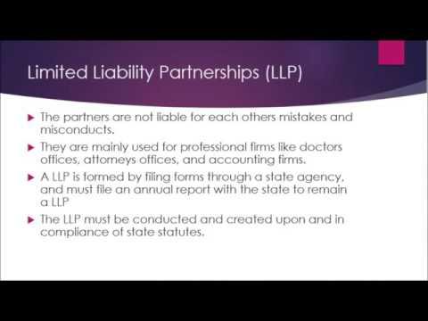 GBS205 Legal Environment- General Partership