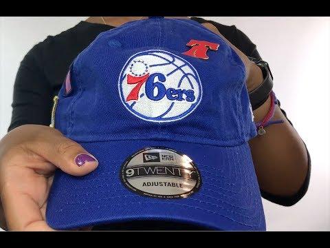 76ers '2018 NBA DRAFT STRAPBACK' Royal Hat by New Era