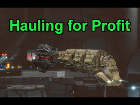 DST Hauling for Fun and Profit - EVE Online Live